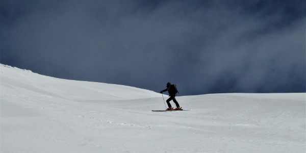 Beneath the summit