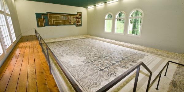 Römische Mosaikböden