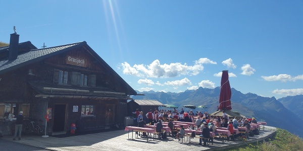 Grasjoch Hütte
