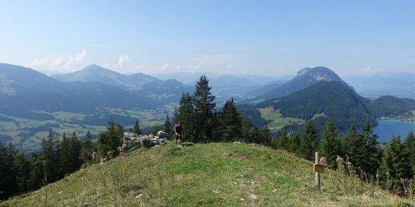 Magnificent views from the Steiner Hochalm