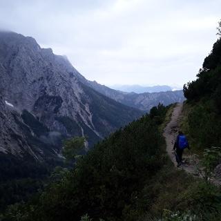 Walk from the Zahmen Kaiser to Walchsee