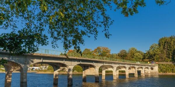 Wandern in Robertville - Halen Brücke