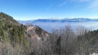 Aussichtspunkt am Mendelpass (Bergbahn)