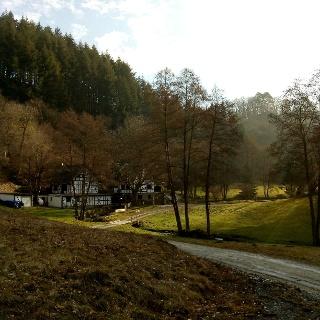 Olksmühle im Hinterbachtal