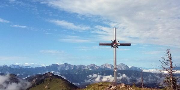 Gipfelkreuz am Almkogel © Zeiselberger