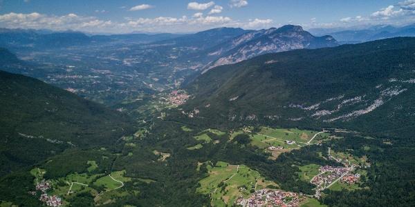 Panorama su Cavedago