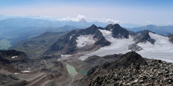 Aufstiegsgelände zwischen Teplitzerhütte und Becherhaus