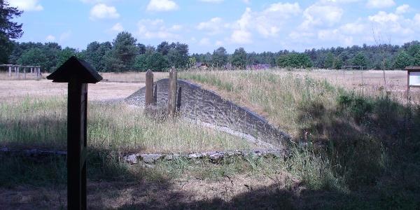 Hügelgrab am Archäologischen Lehrpfad in Oesterholz-H.