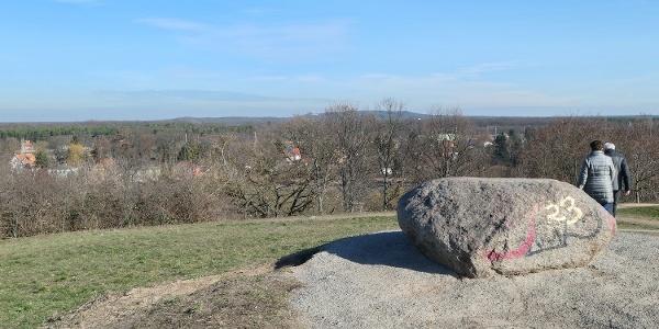 Grünau, Falkenberg. Blick zu den Müggelbergen