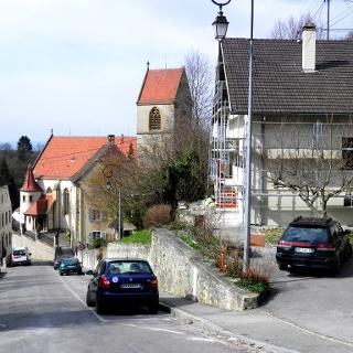 Ferrette: Kirche