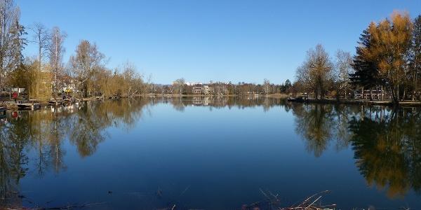 Csónakázó-tó, Szombathely - Kilátás északnyugat felé