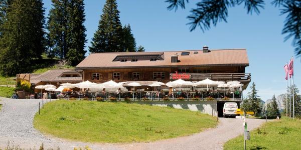 Hauptspeise im Bergrestaurant Chrüz