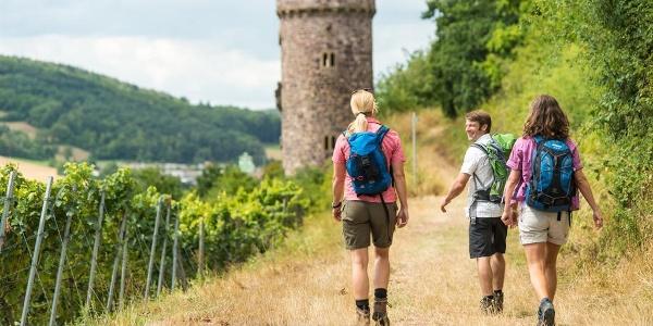 Weg zum Ajaxturm