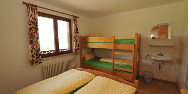 Die Mehrbettzimmer