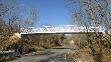Radwege Brücke Crauschwitz