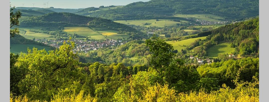 Ausblick auf dem Veldenz-Wanderweg