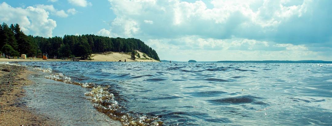 Hiukka beach, Sotkamo Vuokatti Finland