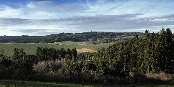 View at Čeřínek nature park
