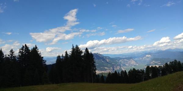 View from Malga Fai