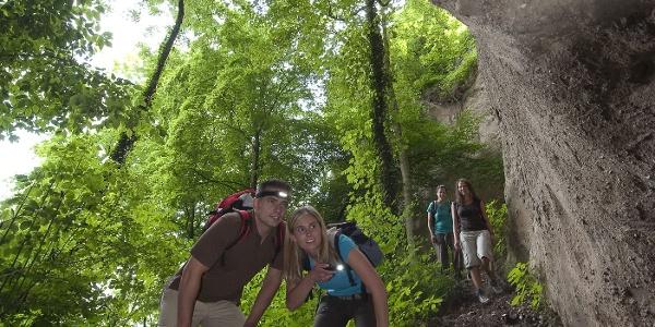 Höhlen- und Schluchtensteig Kell_Trasshöhlen