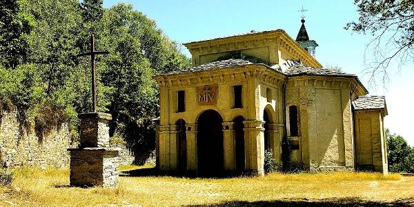 Die Wallfahrtskirche Madonna della Betulla