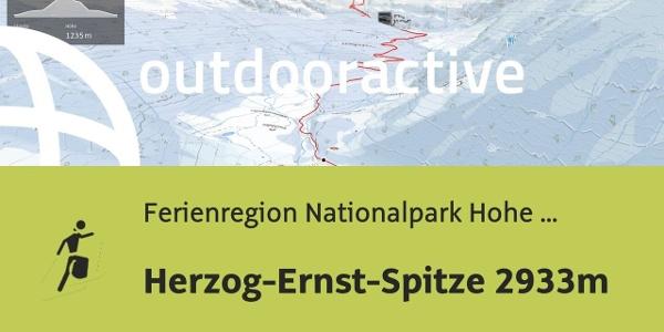 Skitour in der Ferienregion Nationalpark Hohe Tauern: Herzog-Ernst-Spitze 2933m