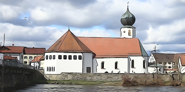 Start in Chamerau; nach der Kirche links (bei den Wanderschildern).