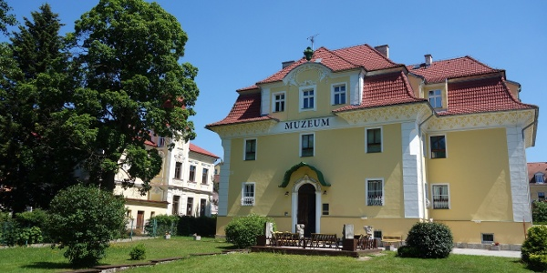 Budova Městského muza Františkovy Lázně