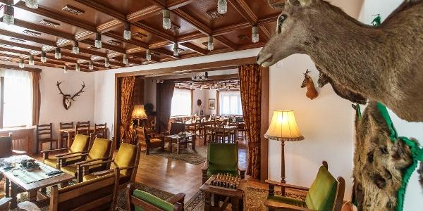 A Zseri vadászház étterme