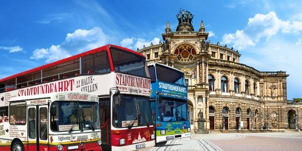 Flotte der Stadtrundfahrt Dresden GmbH