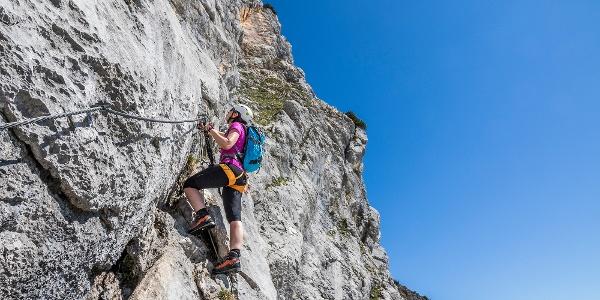 Berchtesgadener Hochthronsteig: Klettersteig am Untersberg