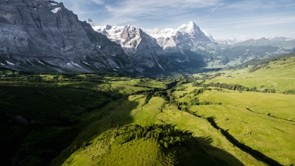 Blick auf Grindelwald