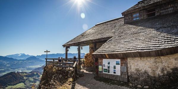 Die Toni-Lenz-Hütte am Untersberg