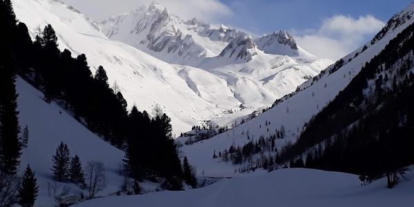 Der Talboden zur Knuttenalm