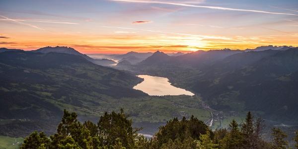 Sonnenaufgang auf dem Giswilerstock