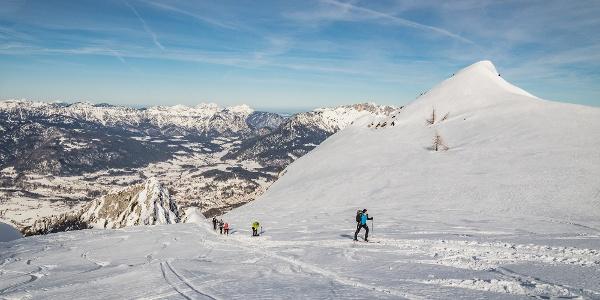 Skitour auf den Hohen Göll