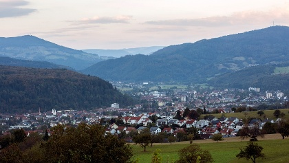 Blick auf Schopfheim