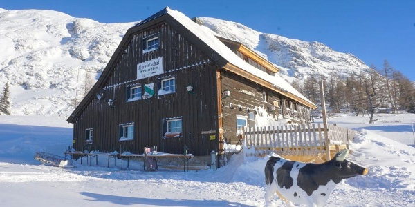 Grazerhütte im Winter