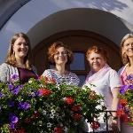 Das Team der Kur- und Gästeinformation Bad Grönenbach