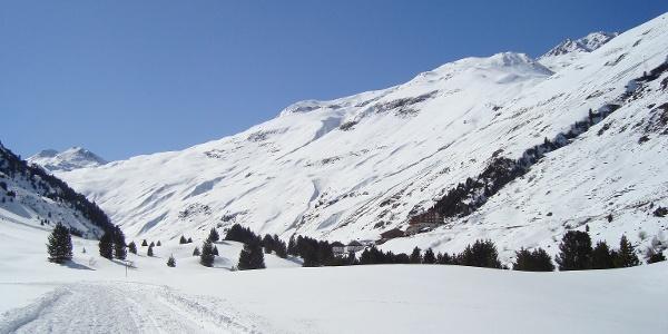 Winterwanderweg Rofen