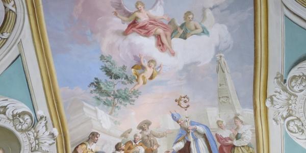 Fresco hl. St. Ulrichkirche