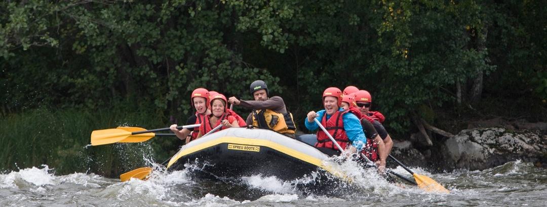River Rafting auf dem Kymijoki