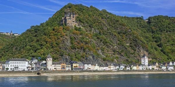 St. Goarshausen mit Burg Katz