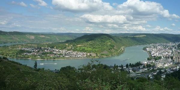 Hunsrückbahnwanderweg Rheinschleife