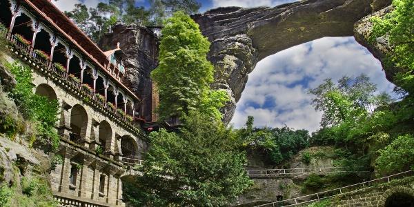 Pravcicka Brana rock arch
