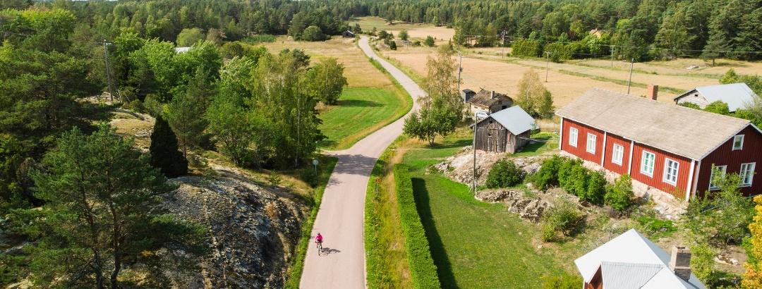 Radfahren auf dem Archipelago Trail