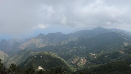 Ausblick vom Pico del Inglés