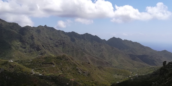 Departure from the Anaga Mountains to San Andrés