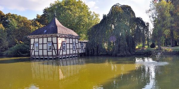 Lusthaus im Schlosspark Stadthagen