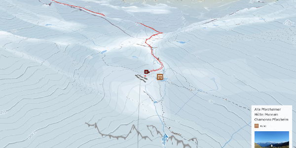 Skitour im Vinschgau: Piz Cristanas von der Sesvenna-Hütte aus